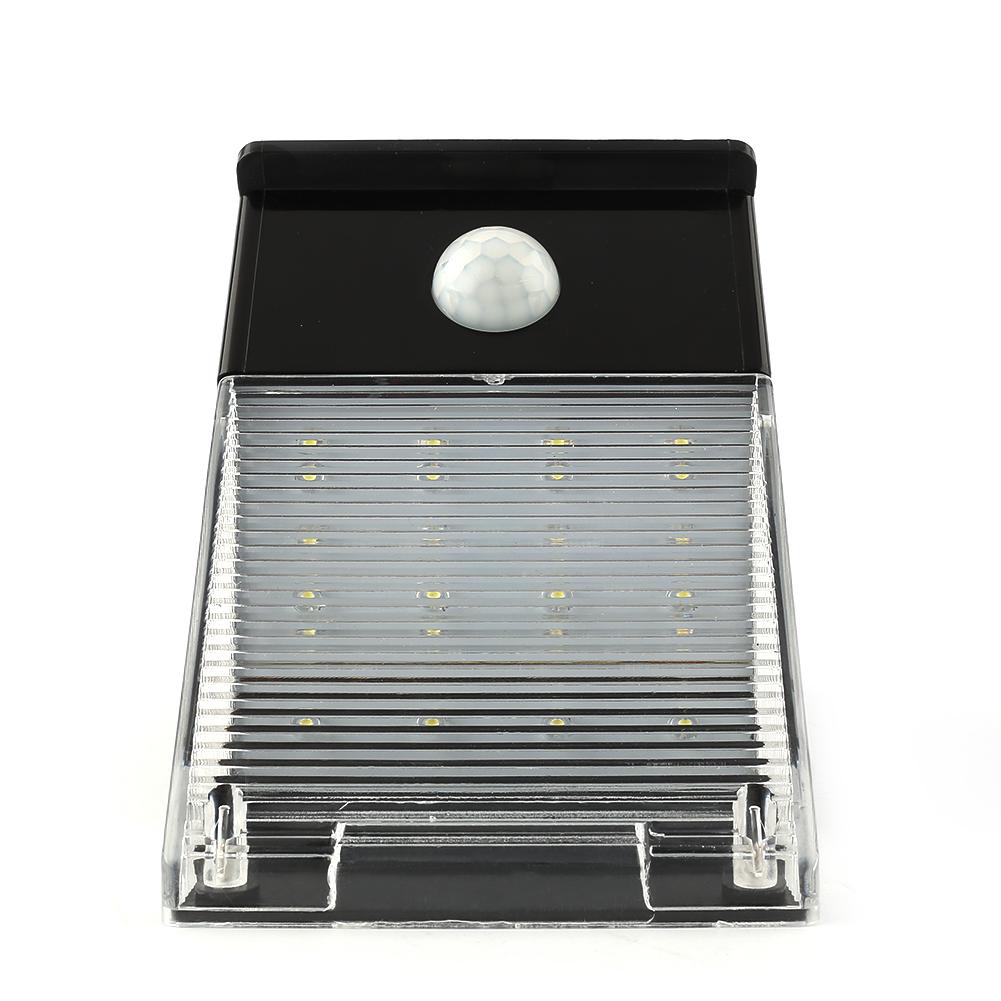 solar wandlampe led solarlampe mit bewegungsmelder licht. Black Bedroom Furniture Sets. Home Design Ideas