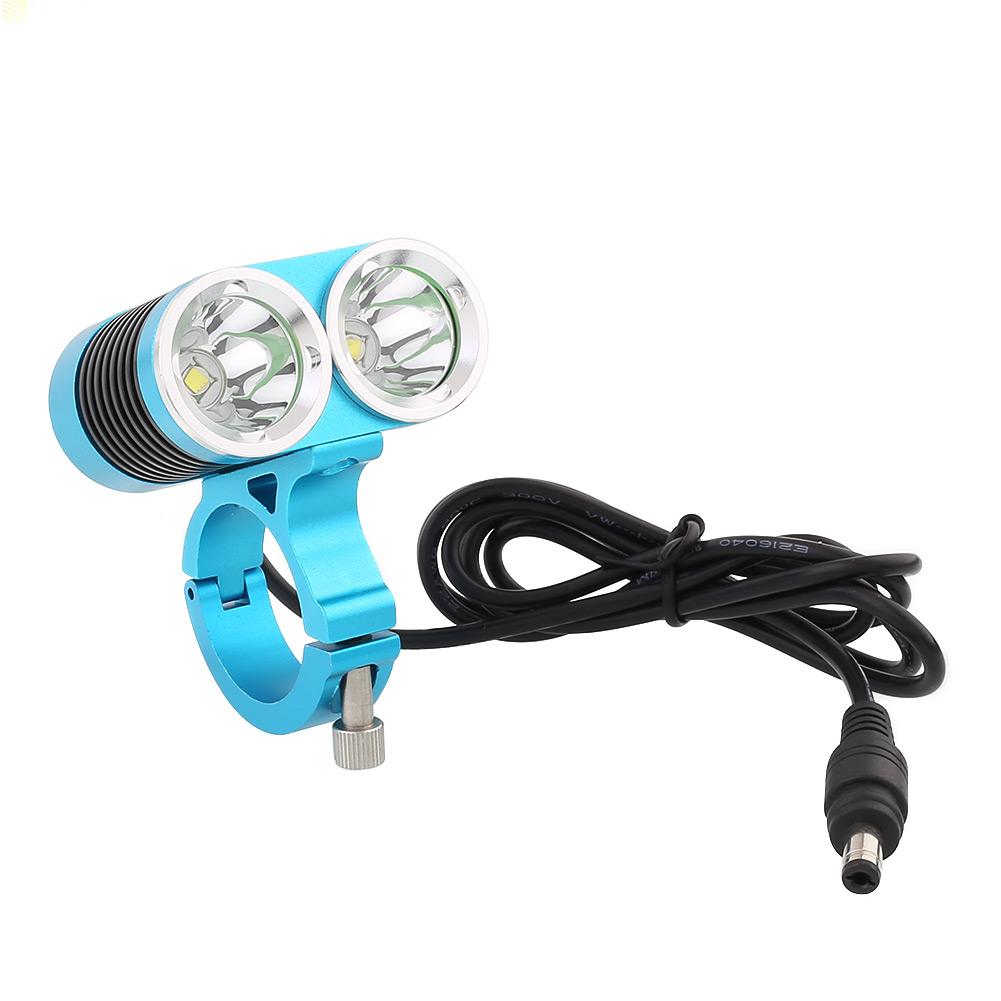blau 5000lm cree xml 2 leds fahrradlampe scheinwerfer beleuchtung frontlampe neu. Black Bedroom Furniture Sets. Home Design Ideas