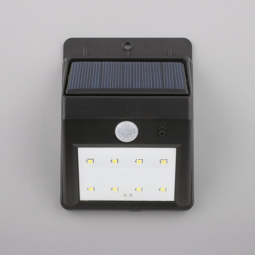 solar wandlampe led solarlampe mit bewegungsmelder licht aussen garten auswahl ebay. Black Bedroom Furniture Sets. Home Design Ideas