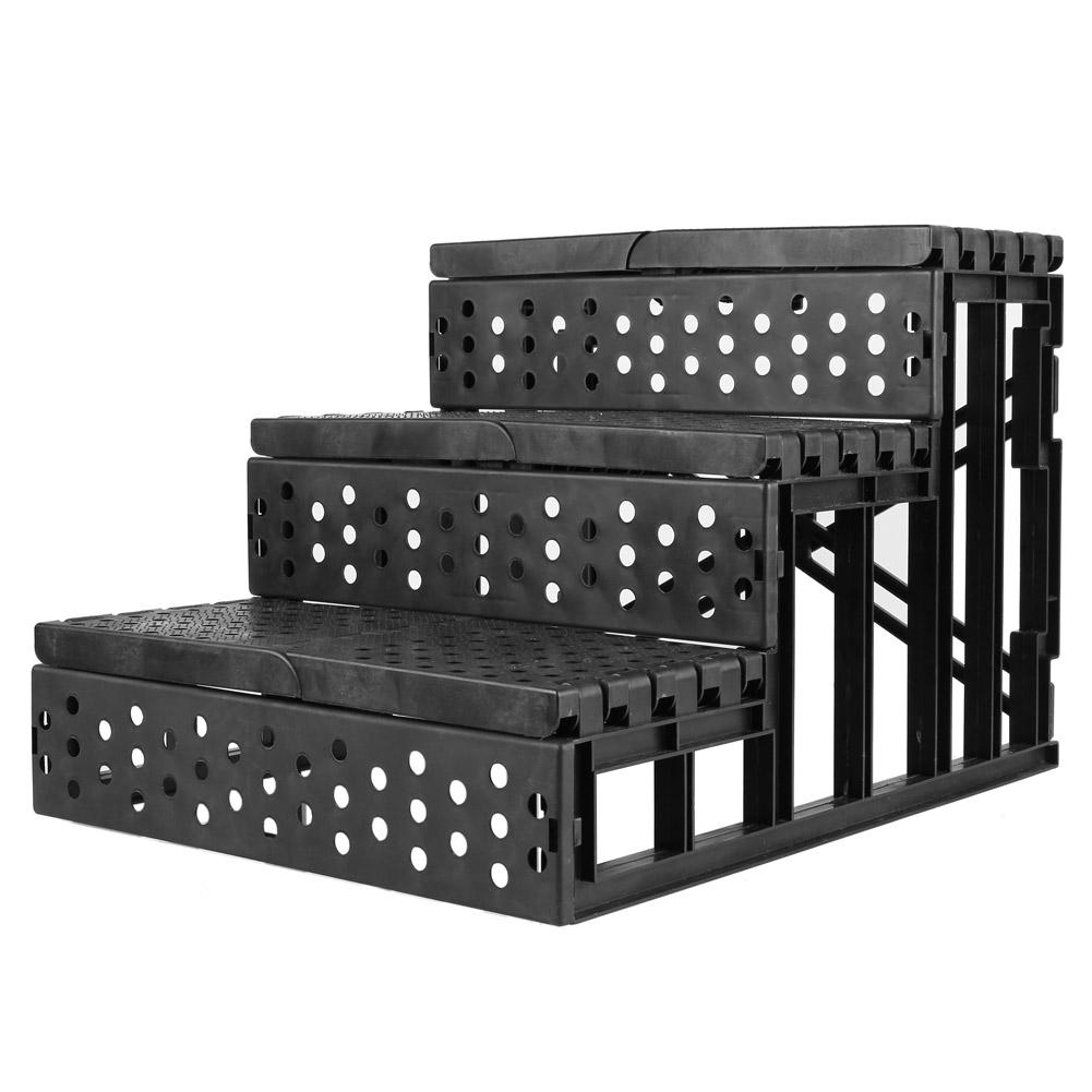 wie hundetreppe drei leiter treppe f r haustier hunde und. Black Bedroom Furniture Sets. Home Design Ideas