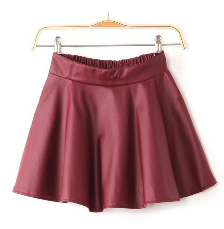 Faux leather skirt hm pictures