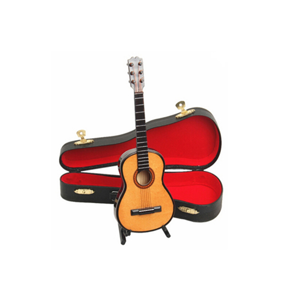 Mini miniature wooden acoustic guitar decor collection for Acoustic guitar decoration