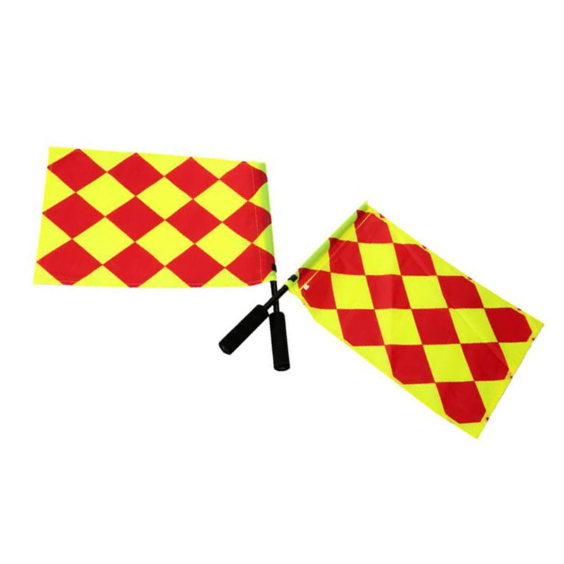 The World Cup Soccer Referee Flag Match Football Competition Equipment B8AD